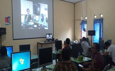 Rapat Koordinasi PPDB antara Sekolah dengan Disdikbud Jateng serta Telkom