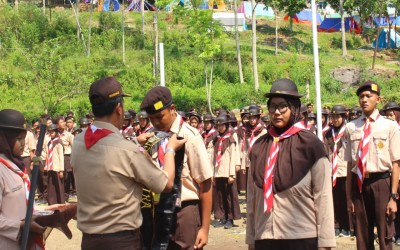Kepala SMA 1 Pegandon Buka Acara PBA 2019