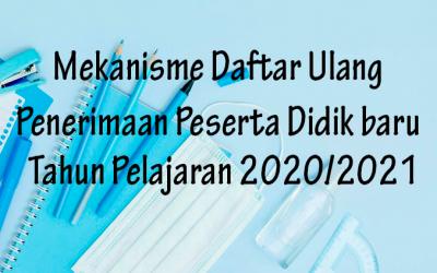 Daftar Ulang PPDB 2020