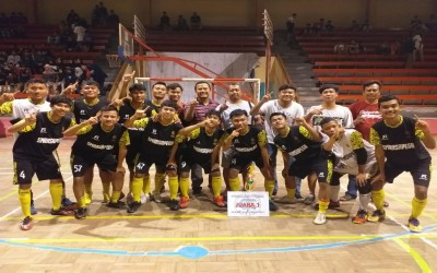 Futsal SMA Pegandon Rebut 2 Piala Sekaligus