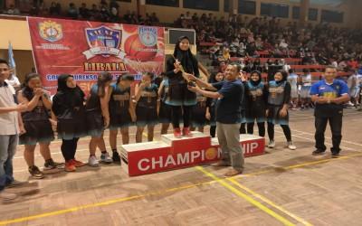 Final Libala Kendal 2019 Mengantarkan Tim Basket Putri Keluar Sebagai Juara