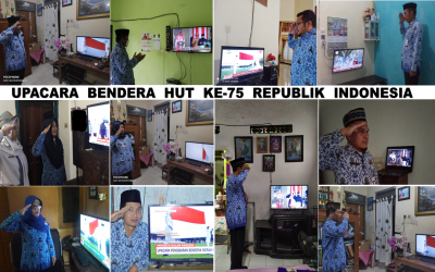 Upacara Bendera HUT Ke-75 Republik Indonesia di SMANSAPEGA